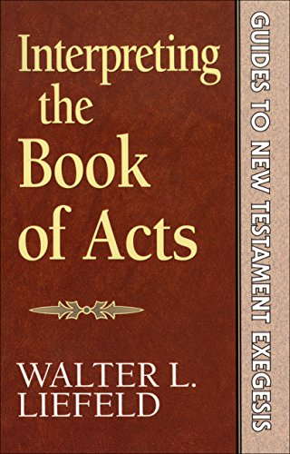 Interpreting the Book of Acts Cover
